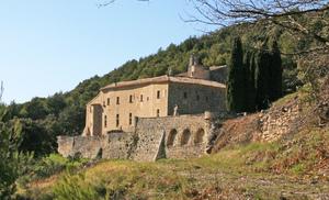 Abbaye Saint Hilaire à Ménerbes