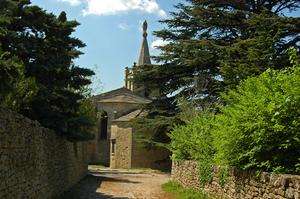 Eglise haute à Bonnieux