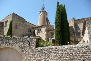 Village et ruelles à Ansouis