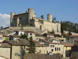 Château et village de Mirabeau