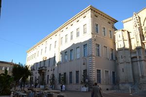 Palais de Justice à Carpentras