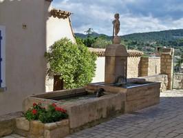 Fontaine à Caromb
