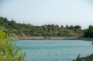 Barrage du lac du Paty