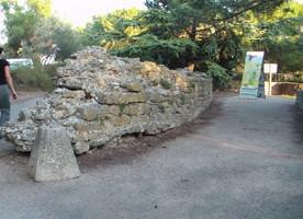 Vestiges du château de Maurice de Nassau à Orange