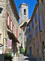 Clocher de l'église de Châteauneuf-du-Pape