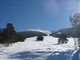 Pistes de ski du Mont Ventoux