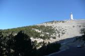 Vue du Mont Ventoux côté sud