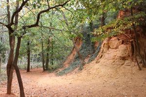 Sentier des ocres de Mormoiron
