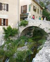 Rivière qui traverse Moustiers-Sainte-Marie