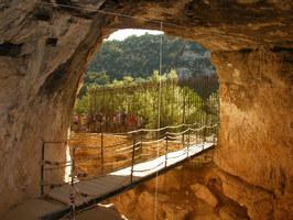 Grotte de la Baume Bonne à Quinson
