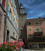 Tour de l'horloge à Castellane