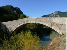 Pont du Roc à Castellane