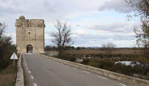 Tour Carbonnière à côté d'Aigues-Mortes