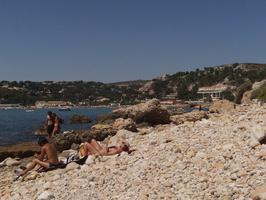 Criques de la plage du Rouet