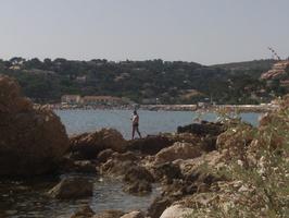 Crique de la plage du Rouet