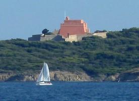 Fort du Grand Langoustier à Porquerolles
