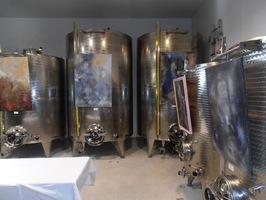Conditionnement de l'huile d'olive dans des cuves inox