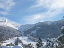 Mont Serin l'hiver