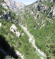 Falaises des gorges du Verdon